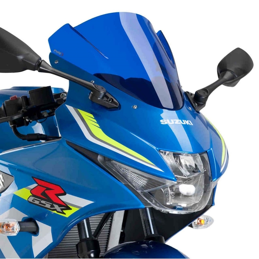 Puig プーチ レーシングスクリーン カラー:ブルー GSX-R125