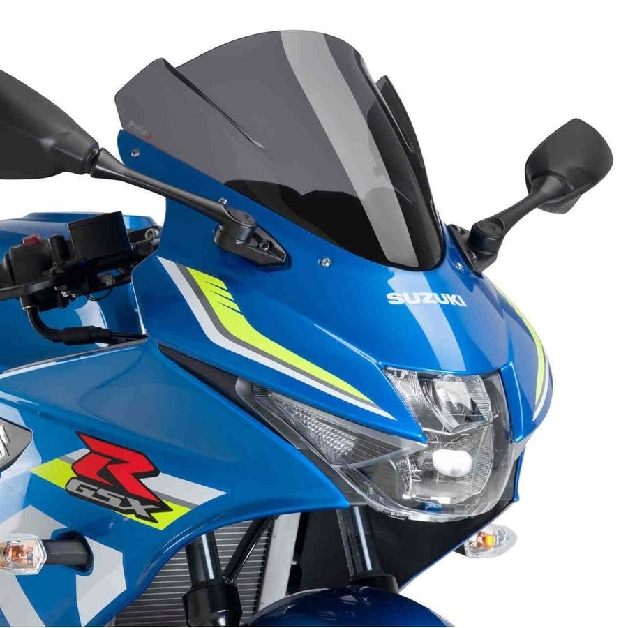 【在庫あり】Puig プーチ レーシングスクリーン カラー:ダークスモーク GSX-R125
