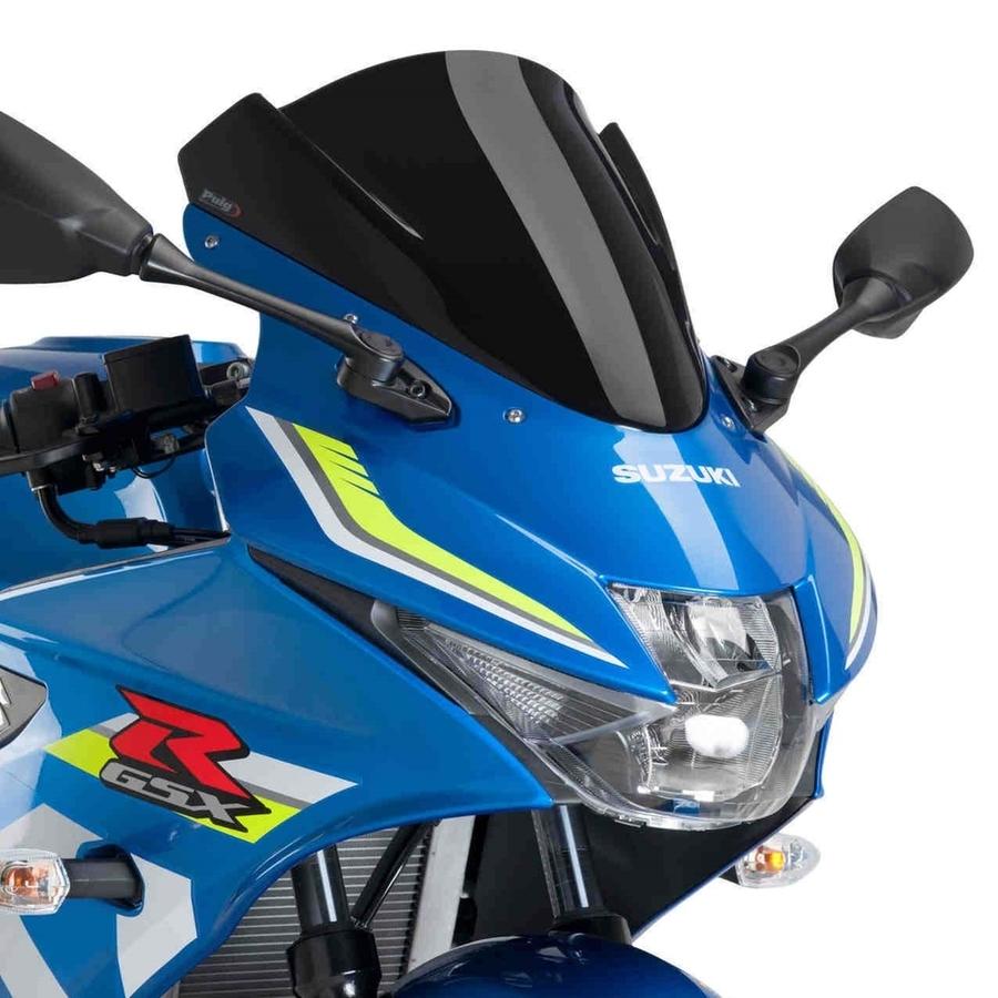 Puig プーチ レーシングスクリーン カラー:ブラック GSX-R125 17-
