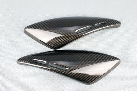 【イベント開催中!】 A-TECH エーテック Aテック サイドカバー タンクサイドプレート 素材:綾織ドライカーボン(DC) Z900RS