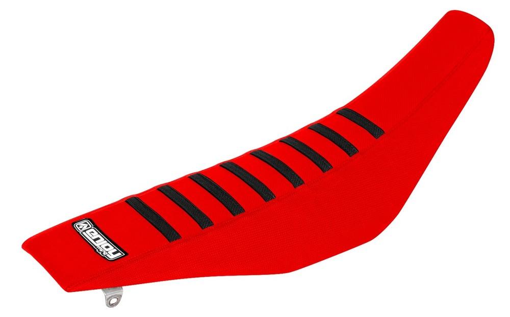 EnjoyMFG エンジョイ その他シートパーツ シートカバー シートスタイル:すべて赤、リブ/黒 WR CR 125 2008-2013