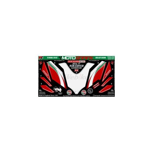 【ポイント5倍開催中!!】MOTOGRAFIX モトグラフィックス ステッカー・デカール ボディーパッド カラー:レッド/グリーン/ブラック/ホワイト/メタリック シルバー SUPERSPORT[スーパースポーツ]16-17