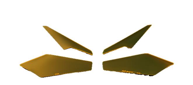 Dimotiv ディモーティヴ その他灯火類 ヘッドライトプロテクター COLOR:FLUORESCENT YELLOW CBR250RR 17-18