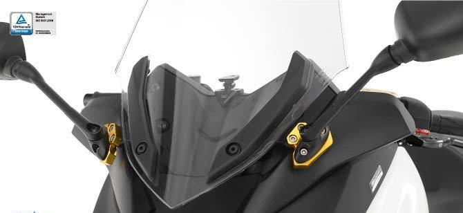 Dimotiv ディモーティヴ ミラー類 ミラーエクステンドキット(Mirrors Extension Kit) COLOR:RED X-MAX300 17-18