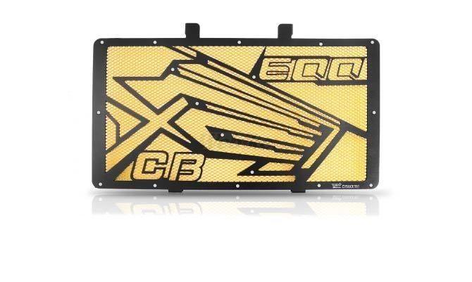 Dimotiv ディモーティヴ コアガード ラジエーターガードスペシャル(Radiator Guard - Special) カラー:Gold CB600F Hornet 2007-2012