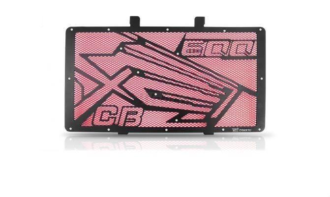 Dimotiv ディモーティヴ コアガード ラジエーターガードスペシャル(Radiator Guard - Special) カラー:Red CB600F Hornet 2007-2012