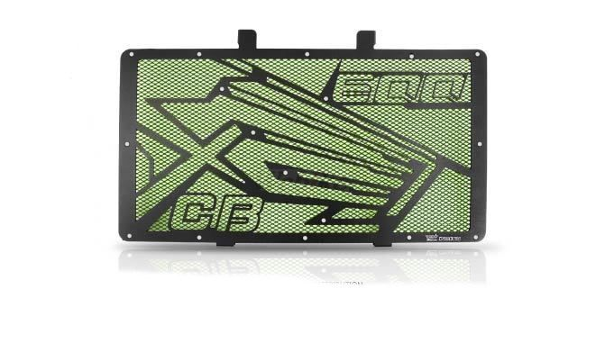 Dimotiv ディモーティヴ コアガード ラジエーターガードスペシャル(Radiator Guard - Special) カラー:Dark Green CB600F Hornet 2007-2012