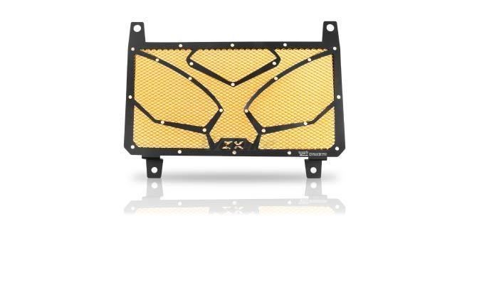 Dimotiv ディモーティヴ コアガード ラジエーターガードスペシャル(Radiator Guard - Special) カラー:Gold Ninja 250R 08-16、Ninja 300 (ZX-300R) 13-16