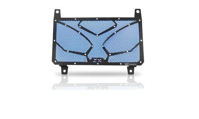 Dimotiv ディモーティヴ コアガード ラジエーターガードスペシャル(Radiator Guard - Special) カラー:Blue Ninja 250R 08-16、Ninja 300 (ZX-300R) 13-16