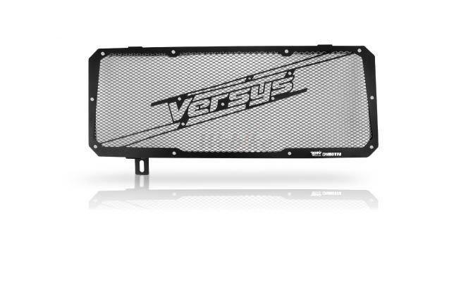 Dimotiv ディモーティヴ コアガード ラジエーターガードスペシャル(Radiator Guard - Special) カラー:Titanium VERSYS 650 15-16