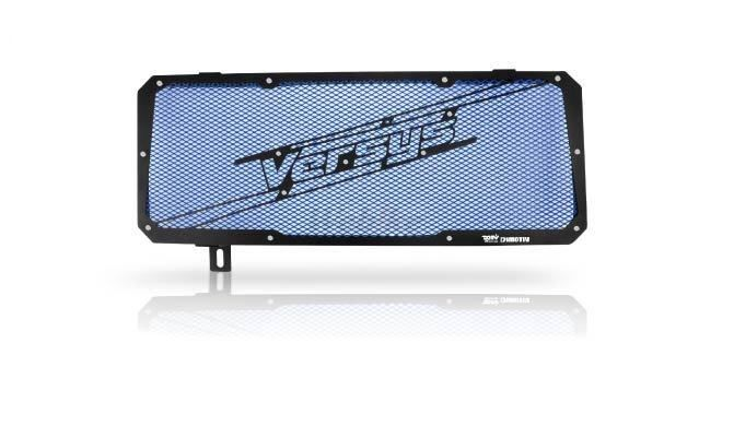 Dimotiv ディモーティヴ コアガード ラジエーターガードスペシャル(Radiator Guard - Special) カラー:Blue VERSYS 650 15-16