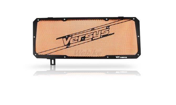 Dimotiv ディモーティヴ コアガード ラジエーターガードスペシャル(Radiator Guard - Special) カラー:Orange VERSYS 650 15-16