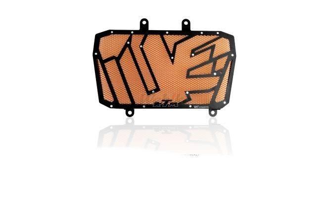 Dimotiv ディモーティヴ コアガード ラジエーターガードスペシャル(Radiator Guard - Special) カラー:Orange DUKE 200 12-16