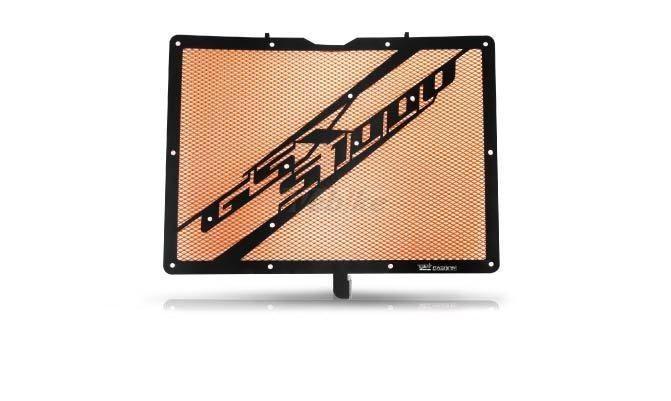 Dimotiv ディモーティヴ コアガード ラジエーターガードスペシャル(Radiator Guard - Special) カラー:Orange GSX-S 1000 15-16、GSX-S1000F 15-16