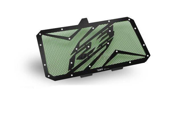 Dimotiv ディモーティヴ コアガード ラジエーターガードスペシャル(Radiator Guard - Special) カラー:Dark Green YZF-R3 15-16