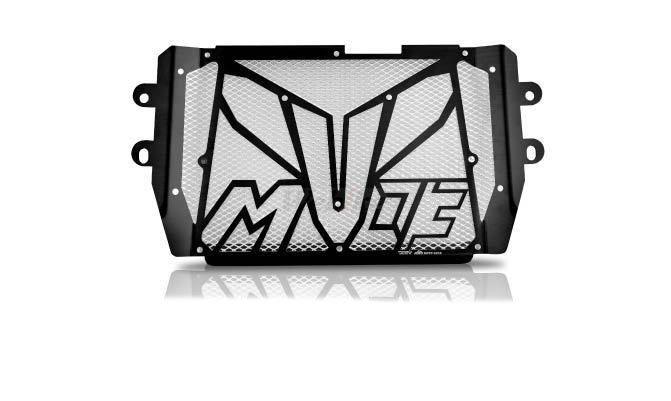 Dimotiv ディモーティヴ コアガード ラジエーターガードスペシャル(Radiator Guard - Special) カラー:Silver MT-03 (2015-)