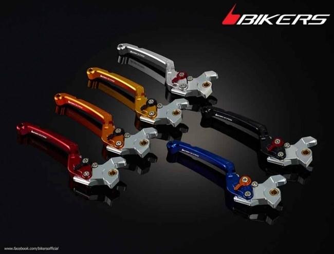 BIKERS バイカーズ フォールディングアジャスタブル ブレーキレバー カラー:Orange YZF-R15