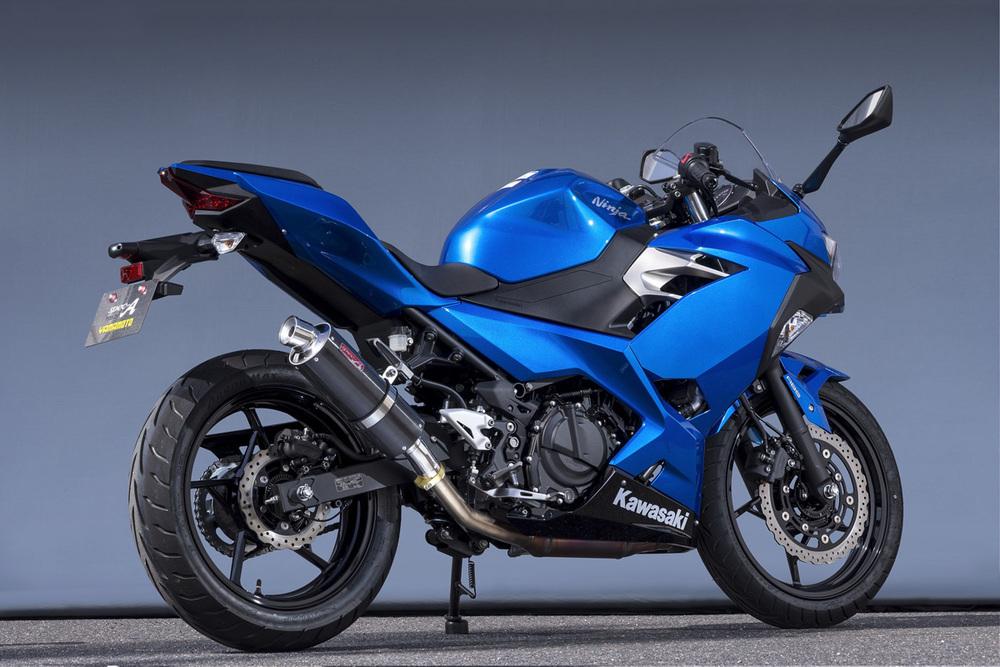 ヤマモトレーシング YAMAMOTO RACING SPEC-A スリップオン カーボン Ninja250