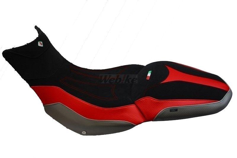 DUCABIKE ドゥカバイク その他シートパーツ 純正シート用 コンフォートカバー カラー:ブラック/レッド/ホワイト MULTISTRADA 1200 ENDURO DVT