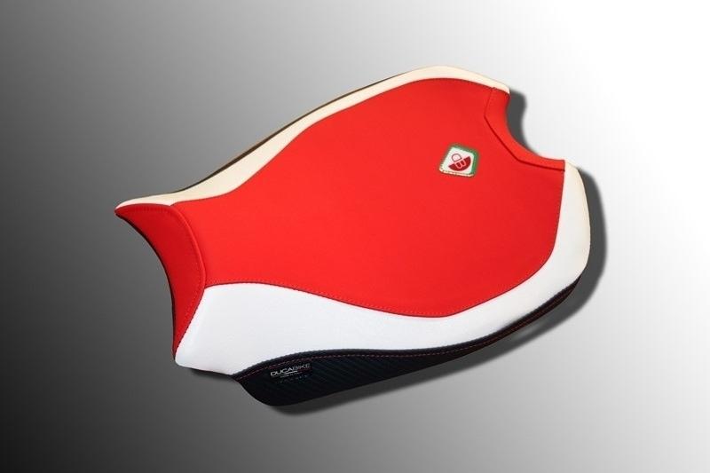 【イベント開催中!】 DUCABIKE ドゥカバイク その他シートパーツ 純正シート用カバー カラー:レッド/ホワイト/ブラック PANIGALE V4 PANIGALE V4 S