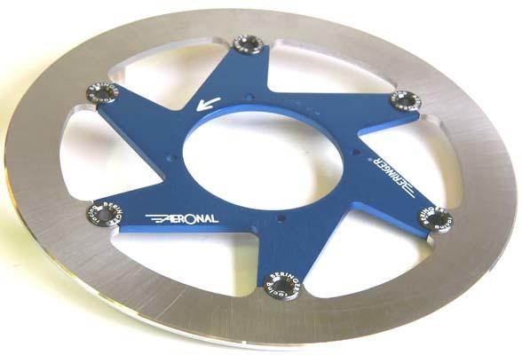 BERINGER ベルリンガー ディスクローター AERONAL DISC (エアロナルディスク) ステンレスローター カラー:ブルー タイプ:右用 ZX-10R (16)