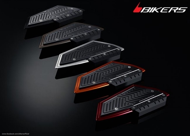 BIKERS バイカーズ フットプレート エキストラ プロテクター付き SH150i