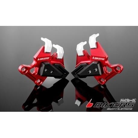 BIKERS バイカーズ ガード・スライダー Front Caliper Brake Guard カラー:Red Versys