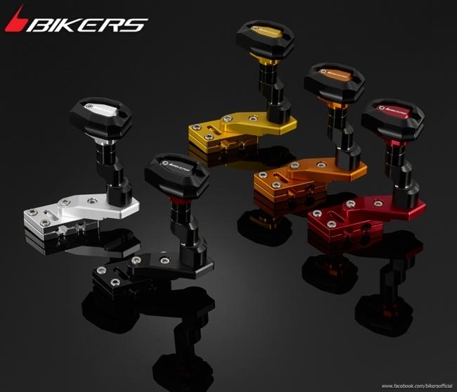 BIKERS バイカーズ ガード・スライダー フェアリングガードセット カラー:Black CB300F