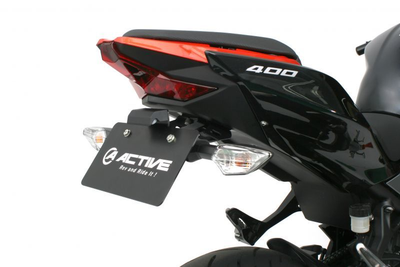 MagiDeal Motorcycle LED Tail Light Brake Lamp Rear Fender for Honda CR125 CRF250R CRF450R