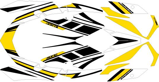 【ポイント5倍開催中!!】【クーポンが使える!】 MDF エムディーエフ ステッカー・デカール グラフィックキット コンプリートセット カラー:SPY XMAX 2018-