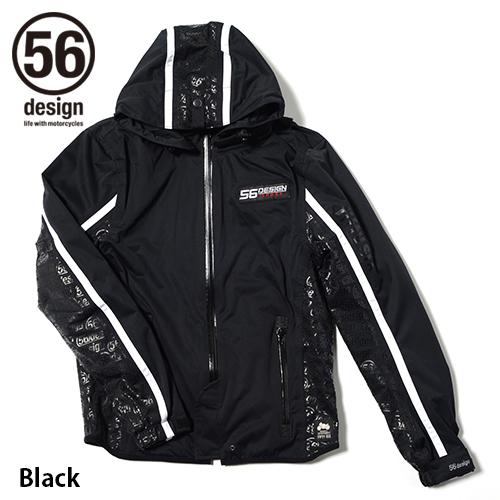 56design 56デザイン ライディングジャケット All Wether Parka [オール ウェザー パーカー] BD サイズ:L