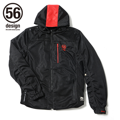56design 56デザイン ライディングジャケット S-Line Mesh Parka [Sライン メッシュ パーカー] WD サイズ:S
