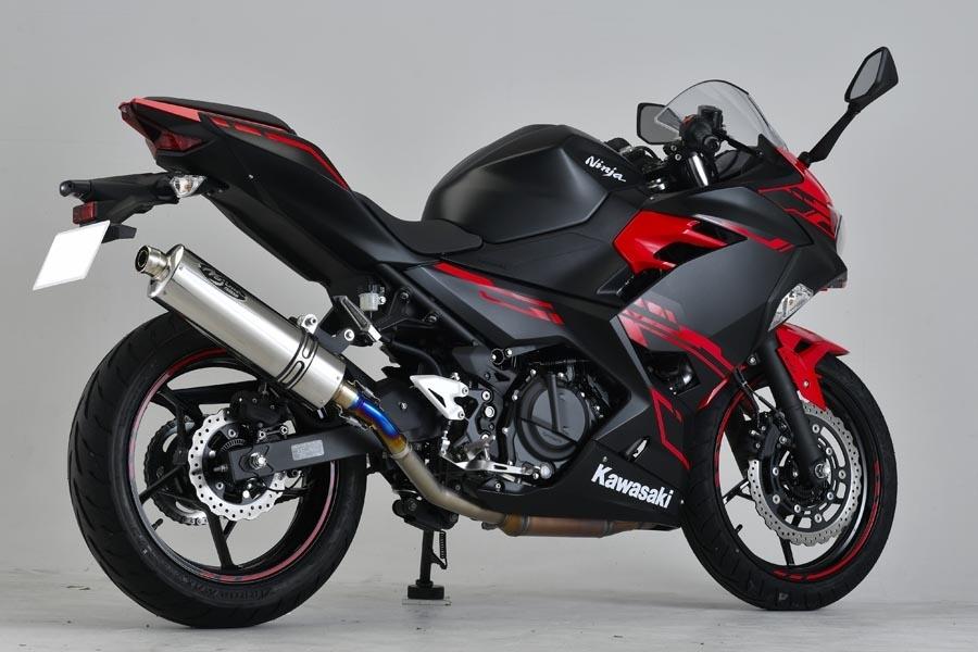 【ポイント5倍開催中!!】【クーポンが使える!】 NOJIMA ノジマ GTミドル スリップオンマフラー 素材:ステンレスポリッシュ Ninja 250 Ninja 400