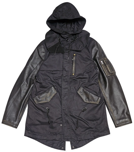 Vin&Age ヴィンアンドエイジ ライディングジャケット MIXED MODS COAT [モッズコート] サイズ:40 (L)