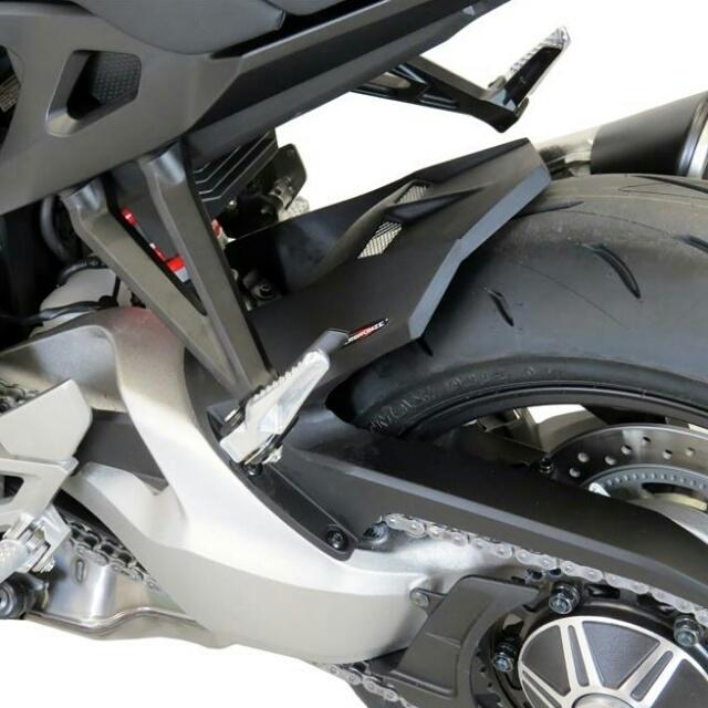 ODAX オダックス リアフェンダー POWER BRONZE インナーフェンダー カラー:マットブラック/シルバーメッシュ CB1000R (2018-)