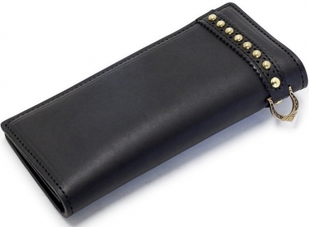 Motor Rock モーターロック その他グッズ 【Dellas Leathers】 Dellas Long Wallet タイプ:スタッズ