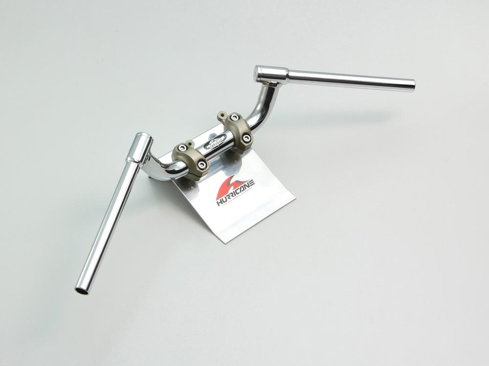 HURRICANE ハリケーン ハンドルバー FATコンドル 専用ハンドル カラー:クロームメッキ GSX-S1000F