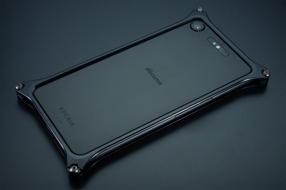 GILD design ギルドデザイン スマートフォンケース ソリッドバンパー for Xperia XZ1 カラー:ブラック Xperia XZ1