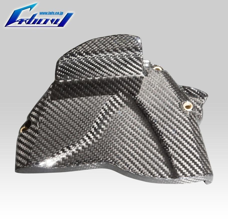 Carbony カーボニー エンジンカバー ドライカーボン スプロケットカバー 仕上げ:ツヤ消し 仕様:綾織り YZF-R1 2009-2014