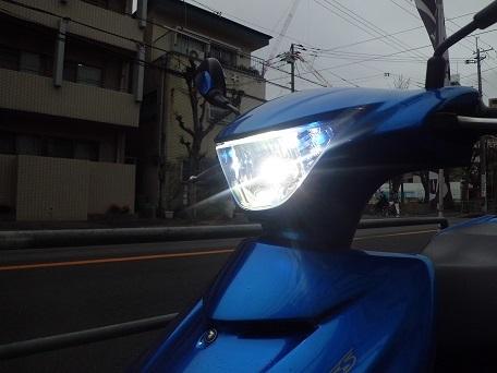 油漢 ユカン newLEDヘッドライトユニットキット アドレスV125S(L0)