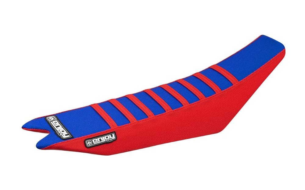EnjoyMFG エンジョイ その他シートパーツ シートカバー シートスタイル:サイド/赤、凸凹/青 R(13-18)、RS(13-18)、RR-S(13-18)、Racing(13-18)、X Trainer(13-18)