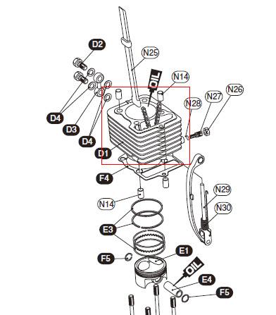キタコ KITACO その他エンジンパーツ 【補修パーツ】メッキシリンダー COMP CRF100F NSF100 XR100R(競技用) XR100モタード エイプ100