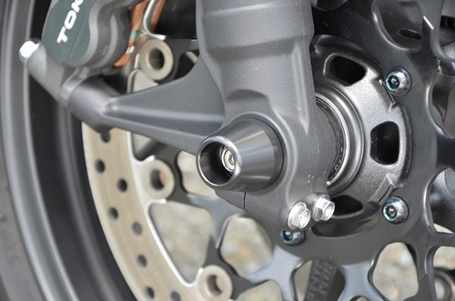 AGRAS アグラス ガード・スライダー アクスルプロテクター コーンタイプ 仕様:ジュラコン/ブラック CB1000R (2018-)