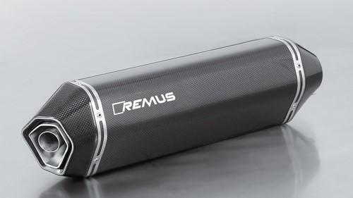 REMUS レムス HEXACONE スリップオンマフラー サイレンサー素材:カーボン