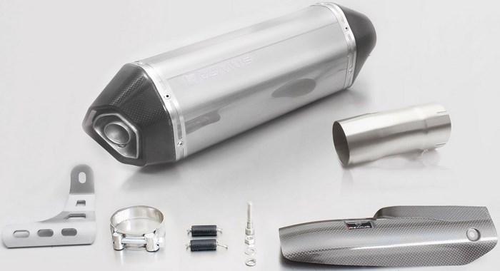 REMUS レムス スリップオンマフラー HEXACONE スリップオン incl.マフラー サイレンサー素材:ステンレス R 1200 R 17-、R 1200 RS 17- 92 kW,(Euro 4)