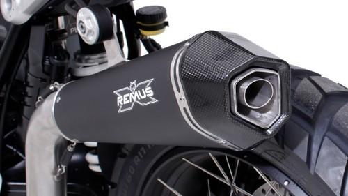 REMUS レムス HYPERCONE スリップオンマフラー サイレンサー素材:ステンレスブラック