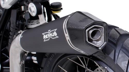 REMUS レムス スリップオンマフラー HYPERCONE スリップオン エキゾーストシステム スポーツマフラー (upswept) サイレンサー素材:ステンレスブラック