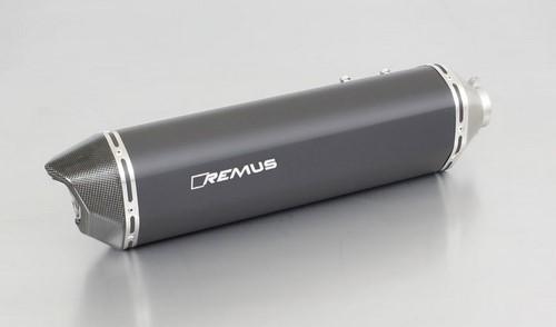 REMUS レムス BLACK HAWK スリップオンマフラー F 800 R 17-、F 800 GT 17- 66 kW,4R80,(Euro 4)