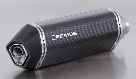 REMUS レムス フルエキゾーストマフラー Sportexhaust フルエキゾーストシステムマフラー サイレンサー素材:カーボン Vespa GTS 125