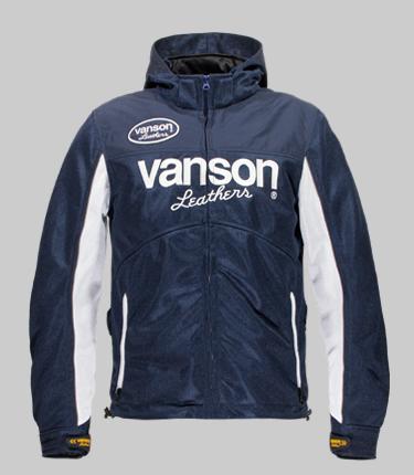 VANSON バンソン メッシュジャケット メッシュパーカー サイズ:M